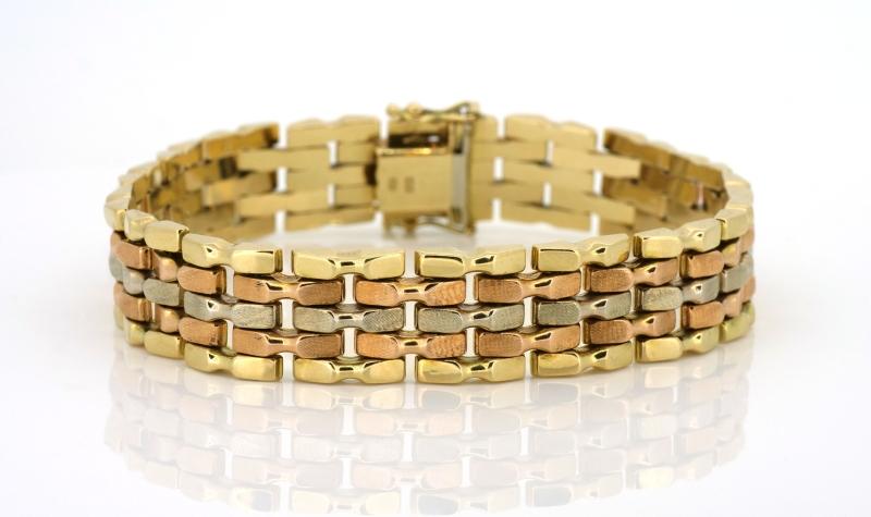 Prächtiges Goldarmband
