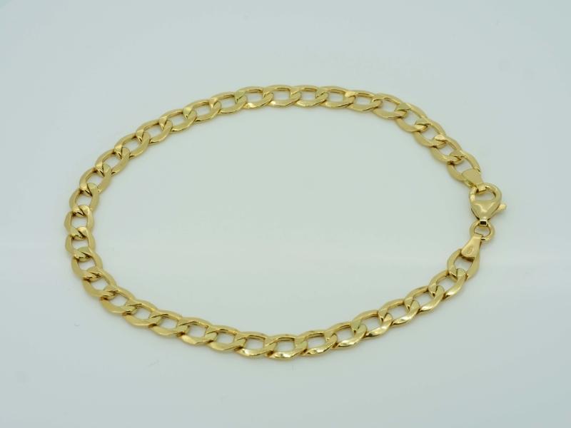 Klassisches Goldarmband
