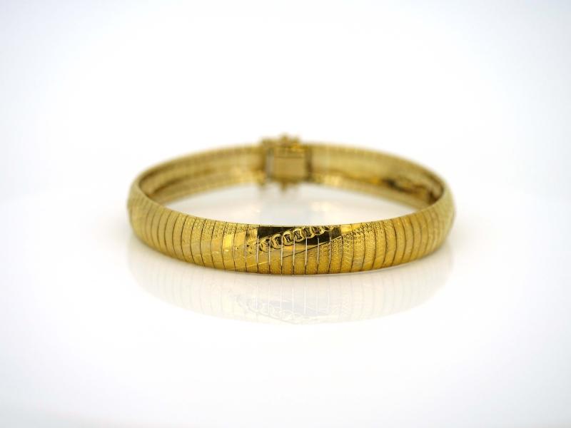 Beeindruckendes Gelbgoldarmband