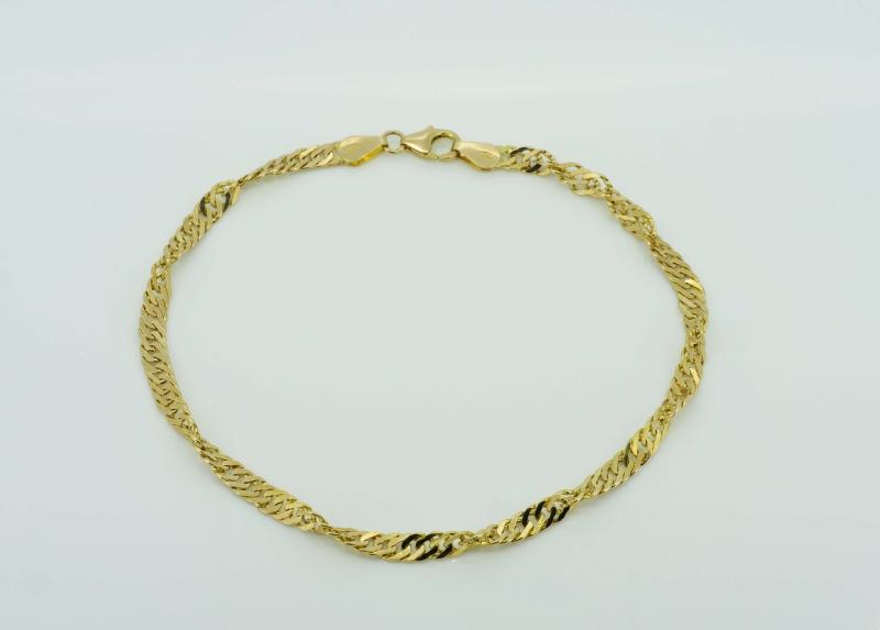 Filigranes Gelbgoldarmband