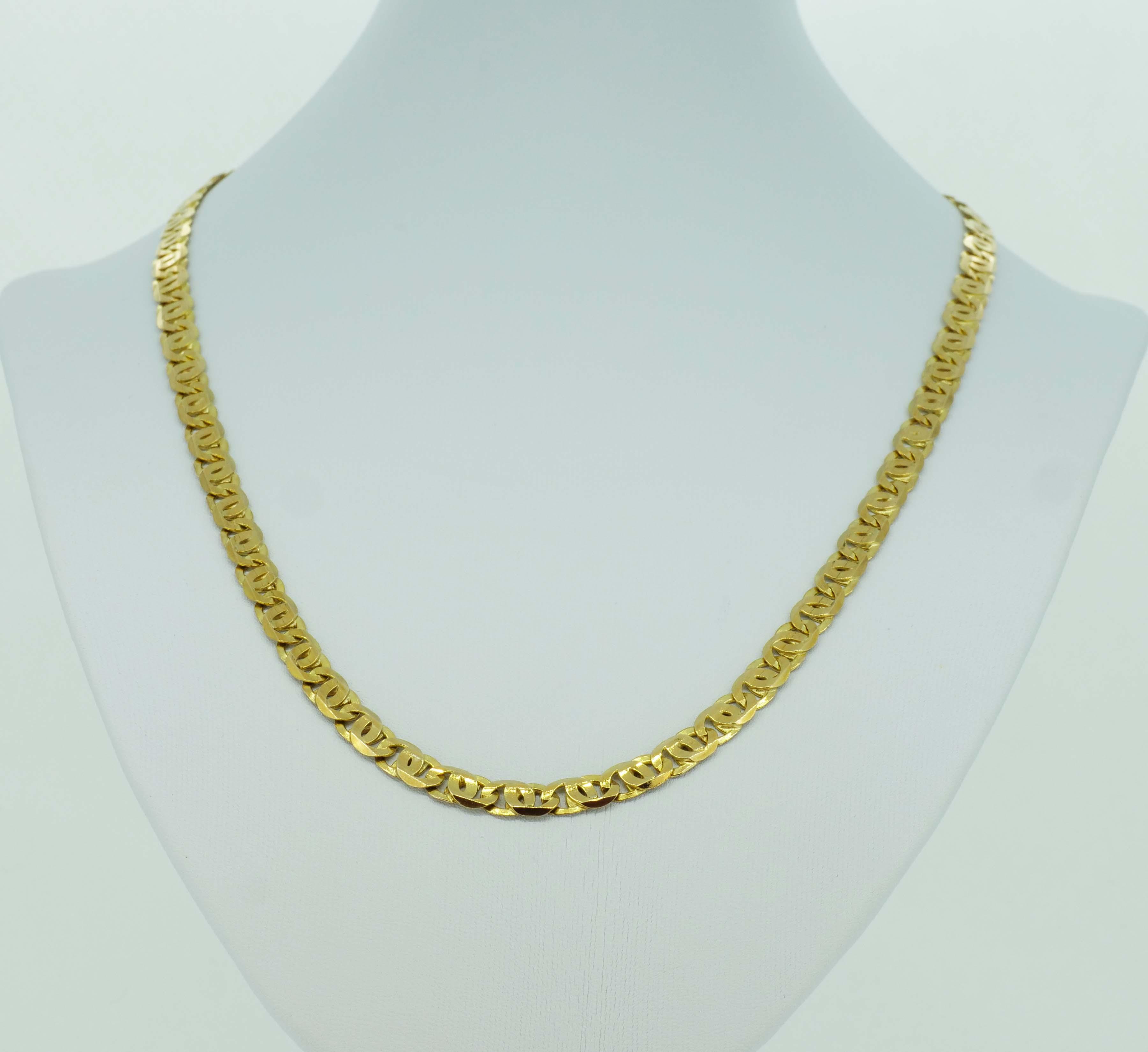 Bewährte Herrengoldkette