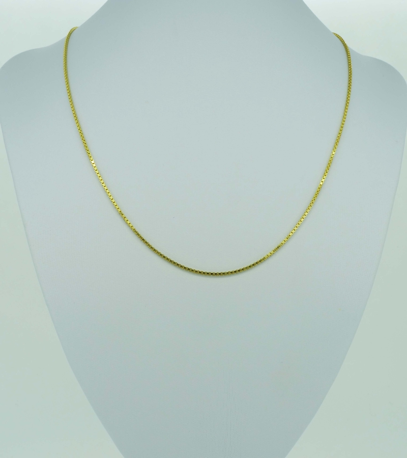 Klassische Gelbgoldvenezianerkette